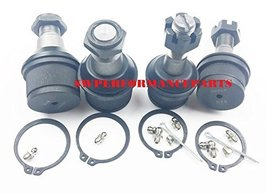 A-Team Performance Upper and Lower Ball Joint Set XRF K3161T K3134T Compatible w