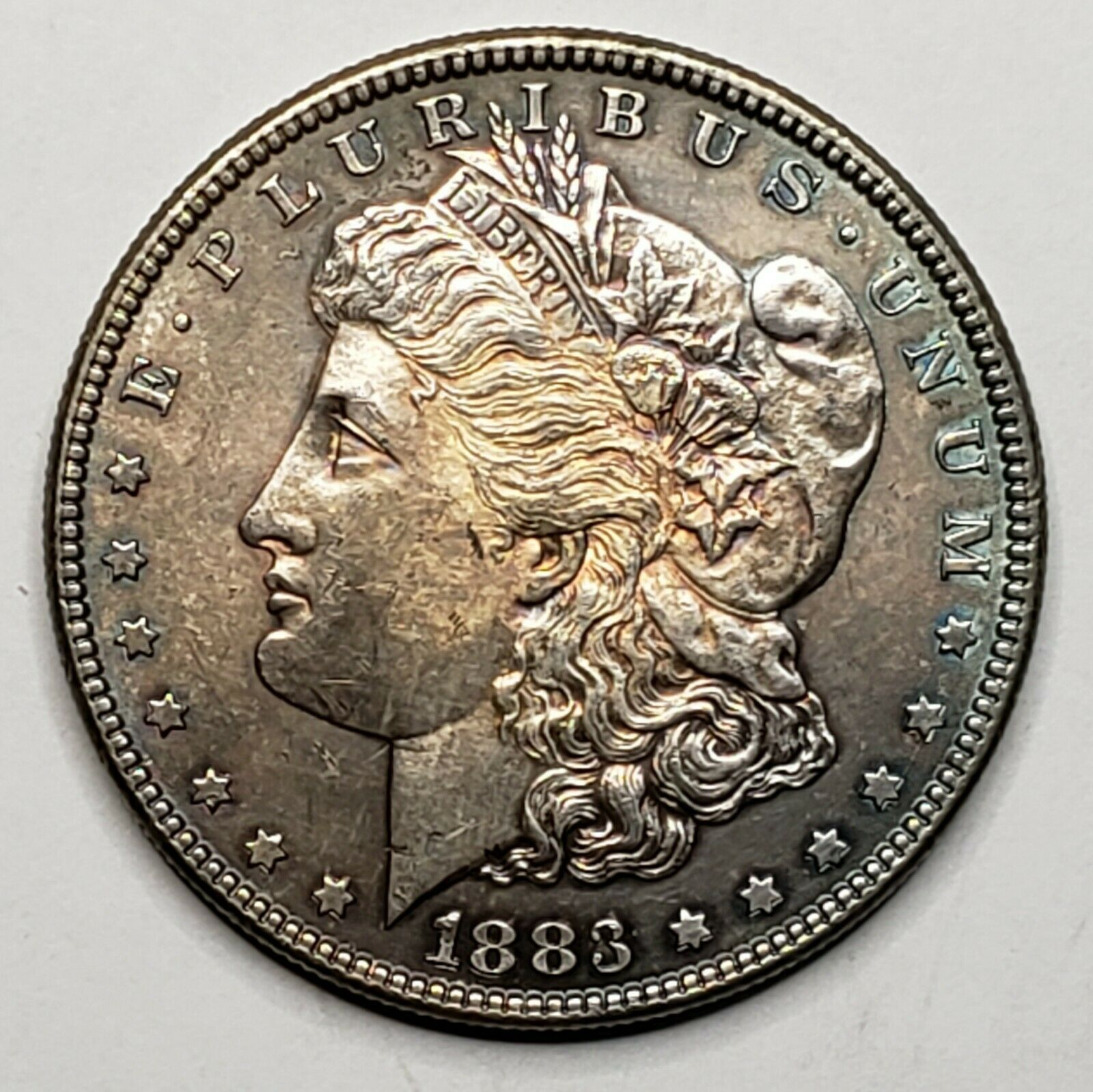 1883 MORGAN SILVER $1 DOLLAR Coin Lot# 519-25