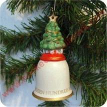 Hallmark 1992 O Christmas Tree Bell Ornamen Item Id: QX5411 - $4.95