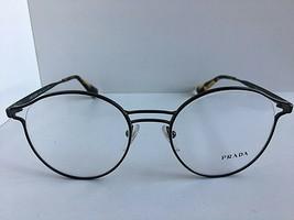 New PRADA VPR 6T2 VHJ-1O1 52mm Black Round Eyeglasses Frame  #4 - $159.99