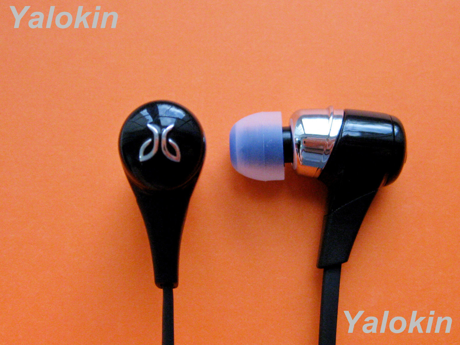 Size NEW 8pcs Medium M C-BL Ear-tips Earbuds Replacement Set for Jaybird X3