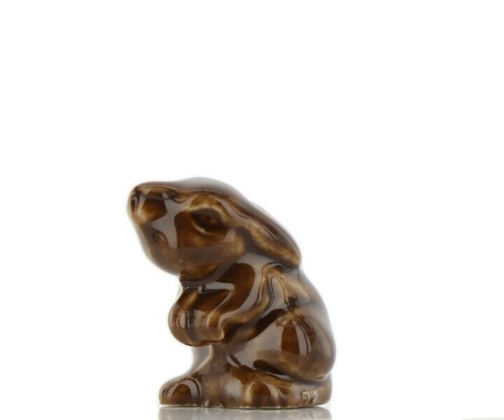 Wade Whimsies Porcelain Miniature Little Brown Bunny Rabbit