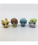 Lot 4 Tic Tac Toy XOXO Friends & Pet Figures w/Wings Poodle Unicorn Rabb... - $9.49