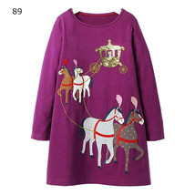 Christmas Costume Kids Clothing Sleeve Baby Girls Unicorn Princess Dress  - $13.00+