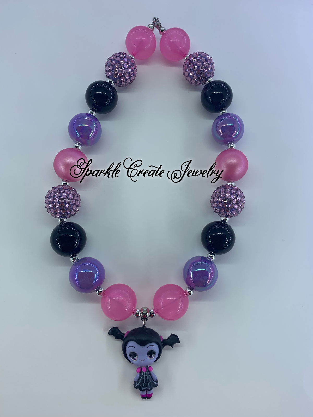 Vampirina Clay Chunky Bubblegum Necklace