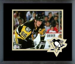 Mario Lemieux Pittsburgh Penguins 1992 Stanley Cup® -11x14 Matted/Framed Photo - $43.55