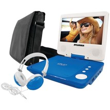 "SYLVANIA SDVD7060-A-COMBO-BLUE 7"" Swivel-Screen Portable DVD Player Bund... - $86.03"