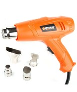 VOLL PLUS 1500-Watt Power Heat Gun Dual Temperature Heat Gun Hot Air Gun - $17.99