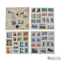 Fun Express Travel Stamp Stickers - $12.10