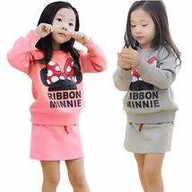 Girls Minnie bow skirt suit clothing autumn - $18.62
