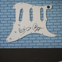 Queen Brian May + Adam Lambert Hand Signed Guitar Pick Guard COA - $250.00