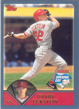 David Eckstein ~ 2003 Topps Opening Day #96 ~ Angels - $0.20