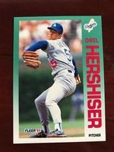1992 Fleer - Orel Hershiser #459 - $0.99