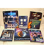 Dr Who 6 Hardback Book Lot Who ology,Who niverse,Character Encyclopedia... - $59.99
