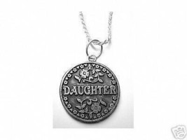 NICE Mother gift 4 Daughter Love Bond Pendant charm Silver - $40.35