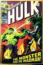 INCREDIBLE HULK# 144 Oct 1971 Doctor Doom Doc Samson Last 15 Cent Issue: 8.0 VF. - $45.00