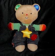 "13"" Melissa & Doug K's Kids Teddy Wear Bear Educational Stuffed Animal Plush Toy - $23.38"