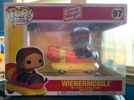 New Funko POP rides Wienermobile Oscar Mayer 97 hot dog  - $28.00