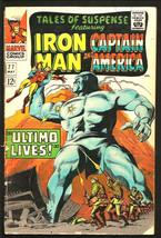 Tales Of Suspense #77 G+/VG- Iron Man Capt. America 1966 Kirby, Romita, A Austin - $41.58
