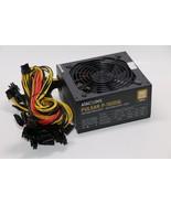 1600W 110V Power Supply  6 GPU Eth Rig Ethereum Coin Mining Miner Machin... - $336.59