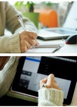 Crystal Ballpoint Pens Diamond Capacitive Stylus Novelty Metal Zakka Tou... - $12.59