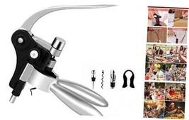 Rabbit Wine Bottle Opener Corkscrew Set-[2020 Upgraded]  Wine Opener Kit... - $30.35