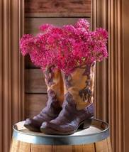 38447 Summerfield Terrace Western Cowboy Boot Planter - $19.47