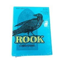 Rook Card Game Classic Parker Brothers Hasbro 2001 New Sealed Blue Box 00714 - $12.99