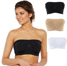 Rhonda Shear Underwire Bandeau Bra with Removable Pads  - $15.83+