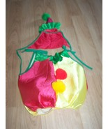 Toddler Size 2-4 Clown Party Halloween Costume w Hat Rubies Red Yellow G... - $18.00