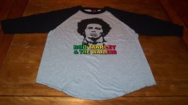 VINTAGE 70's STYLE BOB MARLEY & THE WAILERS Long Sleeve T-Shirt LARGE NEW - $24.74