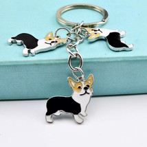 Key Ring Dogs Stray Bungo Buckle Pendant Hang Acrylic Bungou Cute Dog Ke... - $8.39