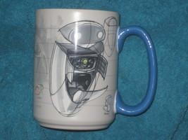 DISNEY STORE Eve Coffee Ceramic Cup. Brand New. #6329. (Wall-e friend) - $19.79