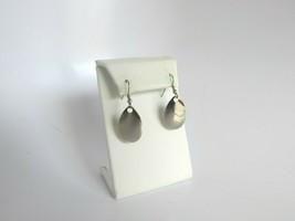Vintage Silvertone Fishing Lure Spinner Drop Dangle Pierced Earrings 52897 - $15.83