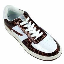 Slicks, 1688-72 BROWN-WHITE Men's Athletic Shoes - $49.99