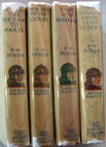 Ted Scott Flying Stories author of Hardy Boys Franklin W. Dixon 4 LOT hcdj  - $60.00