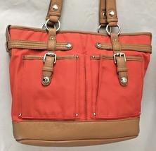 "Orange Brown 5X10X14"" Tyler Rodan Bag Purse Two... - $48.83"