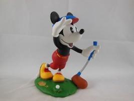 "Disney Hallmark Keepsake Ornament 3"" Mickey's long shot Mickey & Co. Golf 1997 - $4.15"