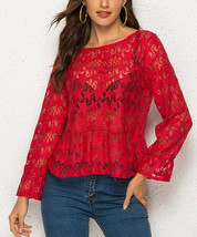 Red Star Sheer Too Size Medium - $6.81
