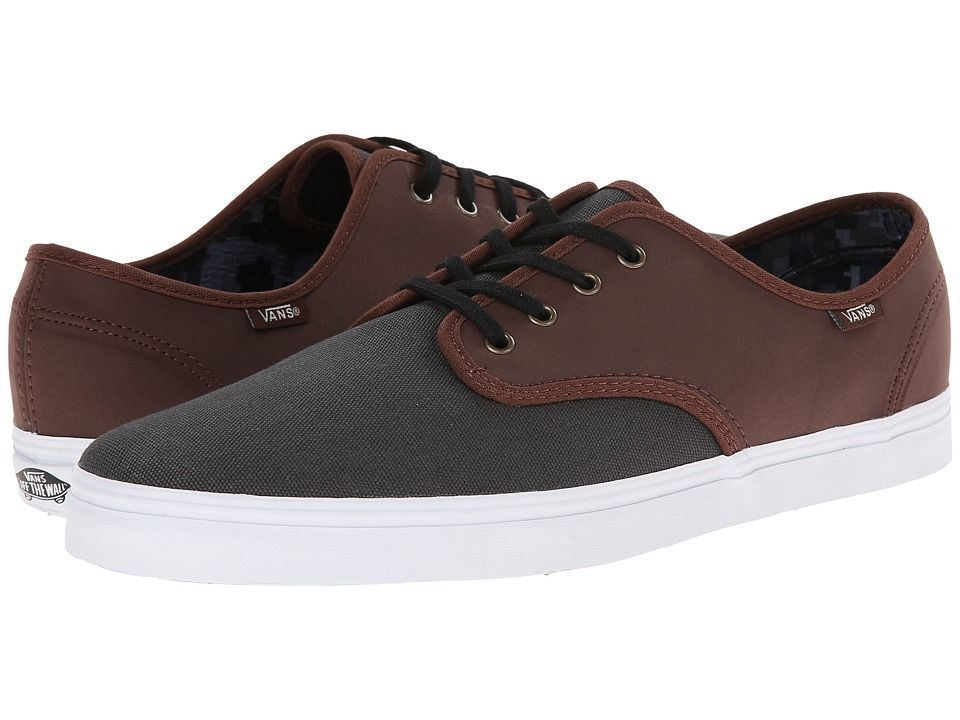 VANS Madero (C&L) Magnet/Leather Casual Skate MEN'S 7 WOMEN'S 8.5 image 2