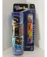 New Lite Brite Refill Set 8 Paper Patterns 50 Pegs Dolphin Airplane Hasb... - $19.34