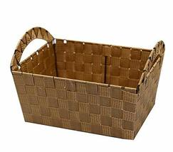 Black Temptation Useful Storage Containers, Weaving Household Storage Ba... - £15.91 GBP