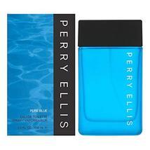 Perry Ellis Perry Ellis Pure Blue Men 3.4 oz EDT Spray - $36.77