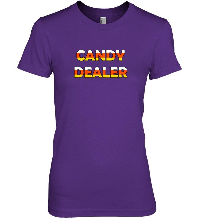 Funny Cool Novelty Candy Dealer Halloween sweater for 2018
