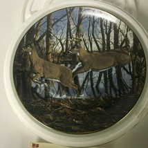 "Danbury Mint Collector Plate ""Cripple Creek""  Deer Friends of The Forest... - $10.88"