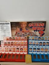 Guess Who Board Game 1991 Vintage Milton Bradley 100% Complete No Instru... - $18.63
