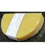 Plain Unscented Soap Natural Vegan One Half Moon Bar 6.6 ounces  - $6.60