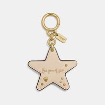 Coach Selena Gomez Star Bag Charm Gold / Chalk HKD 600 MSRP $50 - $34.60