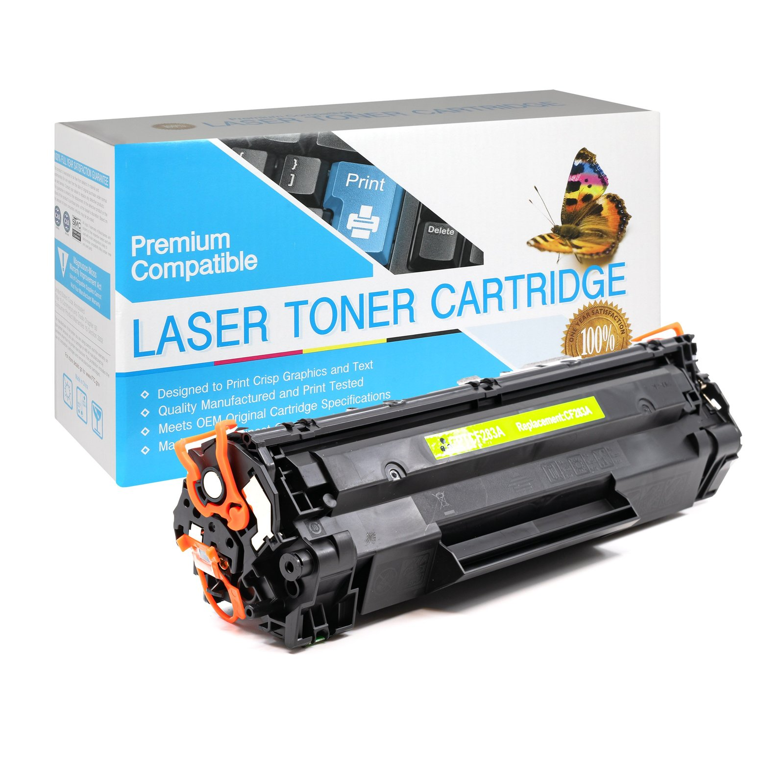 CF283A Black Toner Cartridge compatible with the HP CF283A - $21.99