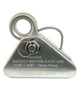 ProClimb Aluminum Mini Arborist Rope Grab - Removable Cam, Fixed Bolt & ... - $47.44
